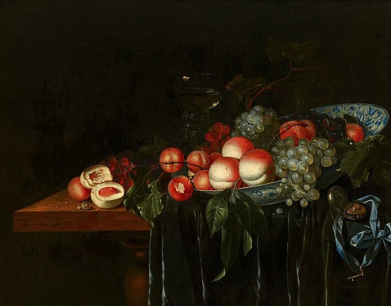 Johannes Rosenhagen - Fruit Still Life. Mauritshuis