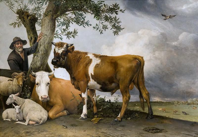 Paulus Potter - The Bull. Mauritshuis