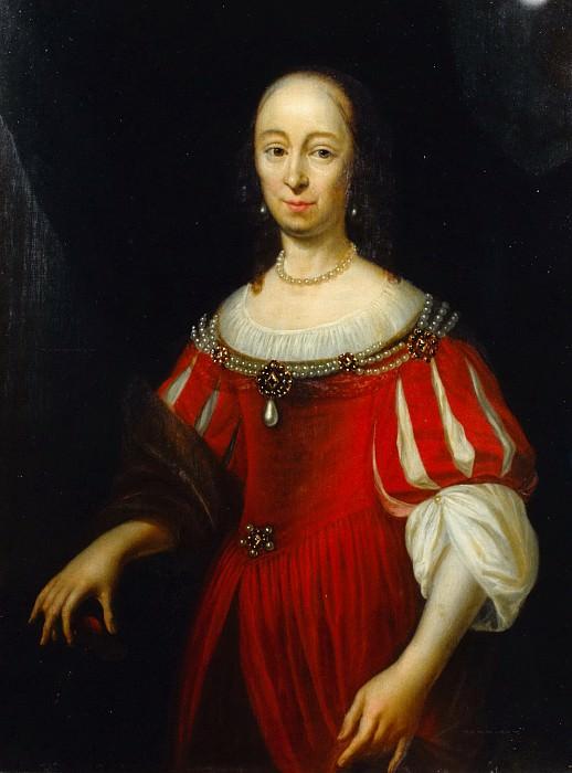 Голландская школа - Портрет Марии де Витт (1620-1681). Маурицхёйс