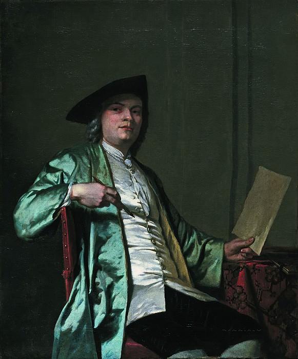 George van der Mijn - Portrait of Cornelis Ploos van Amstel (1726-1798). Mauritshuis