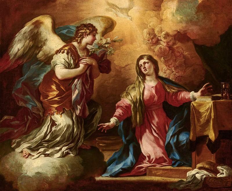 Francesco Solimena - The Annunciation. Mauritshuis