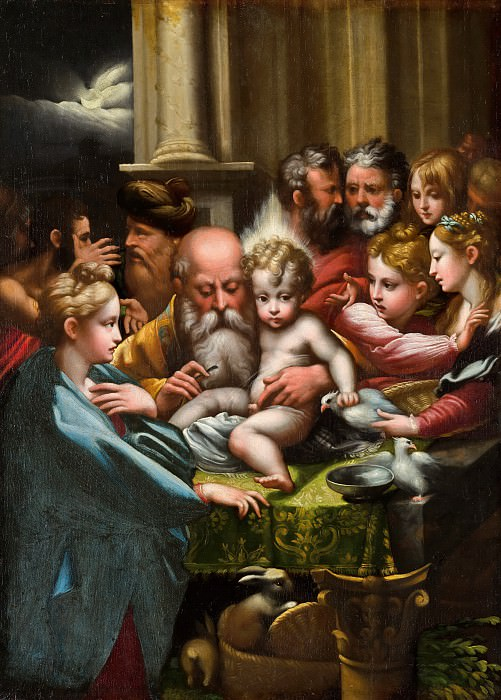 Parmigianino (after) - The Circumcision. Mauritshuis