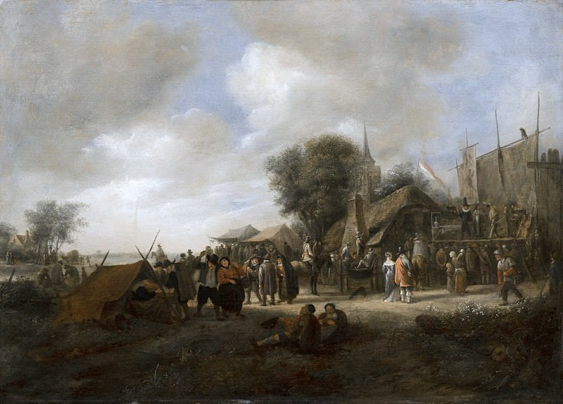 Jan Steen - Village Fair. Mauritshuis