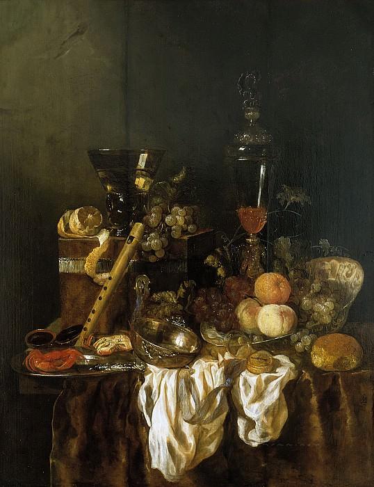 Abraham van Beyeren - Sumptuous Still Life. Mauritshuis