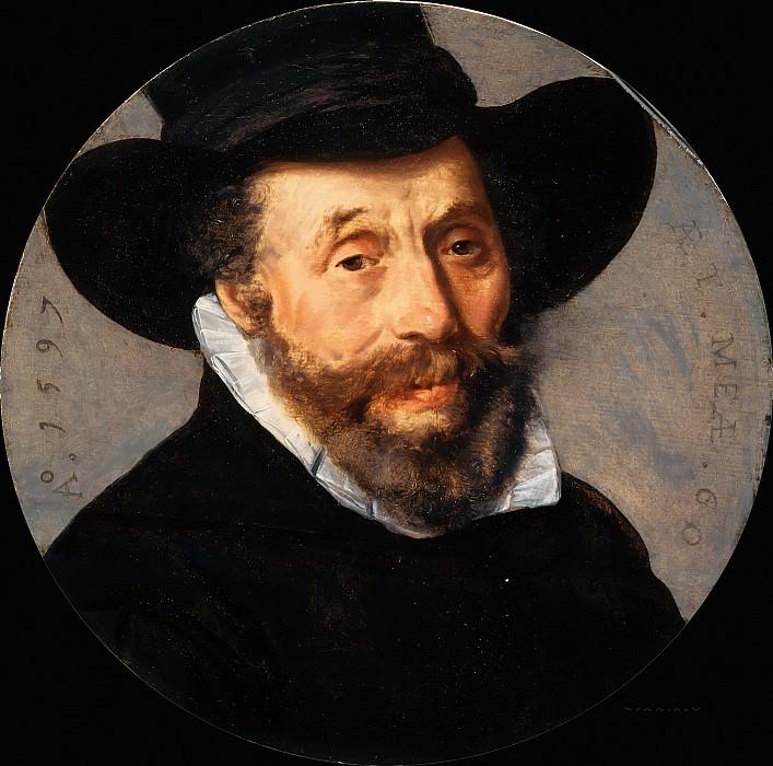 Pieter Pietersz - Portrait of a Man. Mauritshuis