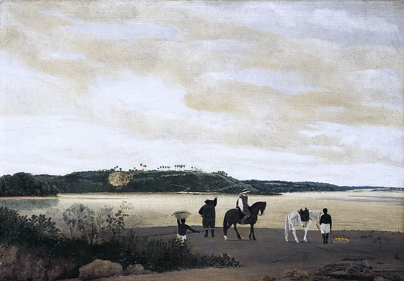 Frans Post - View of Itamaracà Island in Brazil. Mauritshuis