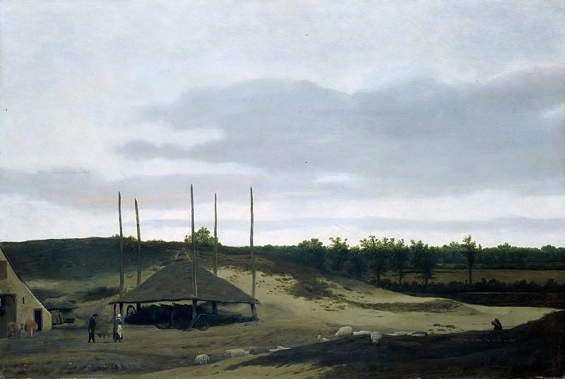 Pieter Post - Dune Landscape. Mauritshuis