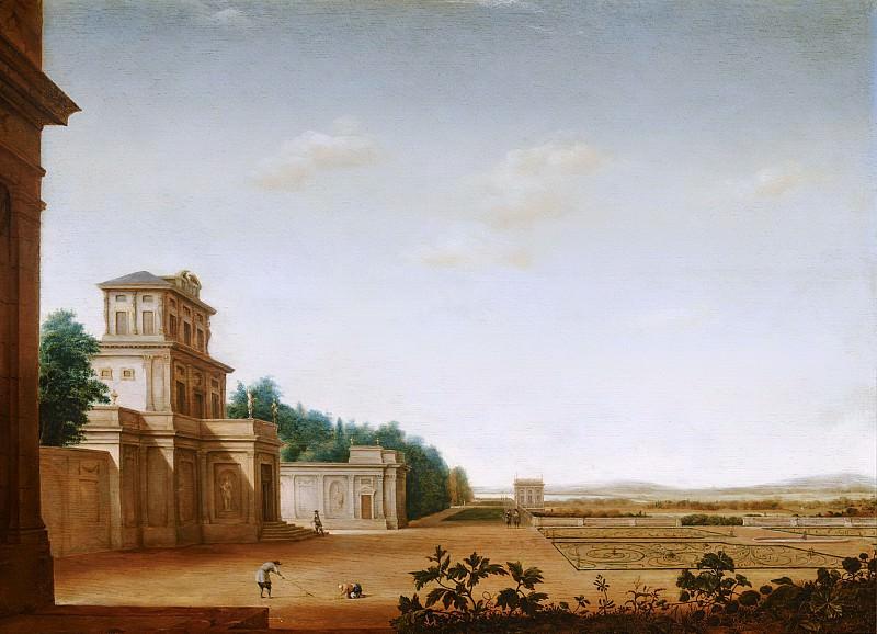 Jan van Nickele - Country House and Park. Mauritshuis