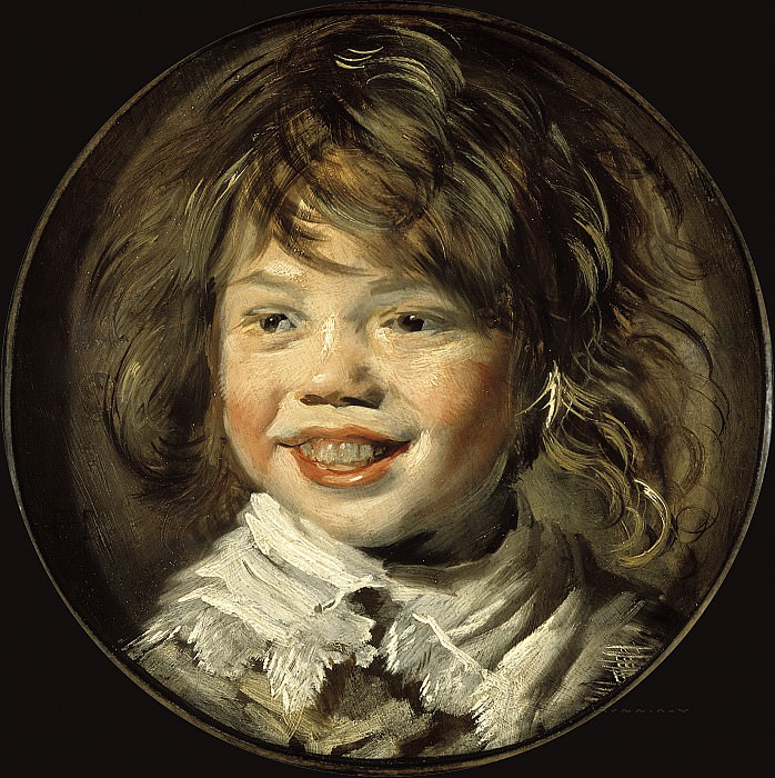 Frans Hals - Laughing Boy. Mauritshuis