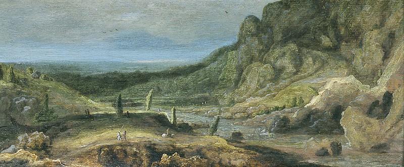 Hercules Seghers - River Valley. Mauritshuis