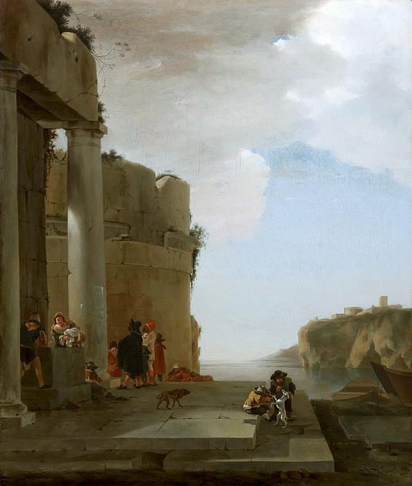 Jan Asselijn - Italianate Landscape. Mauritshuis