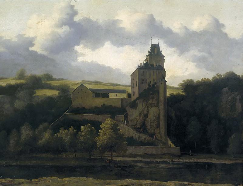 Эвердинген, Алларт - Пейзаж с замком Монжарден. Маурицхёйс