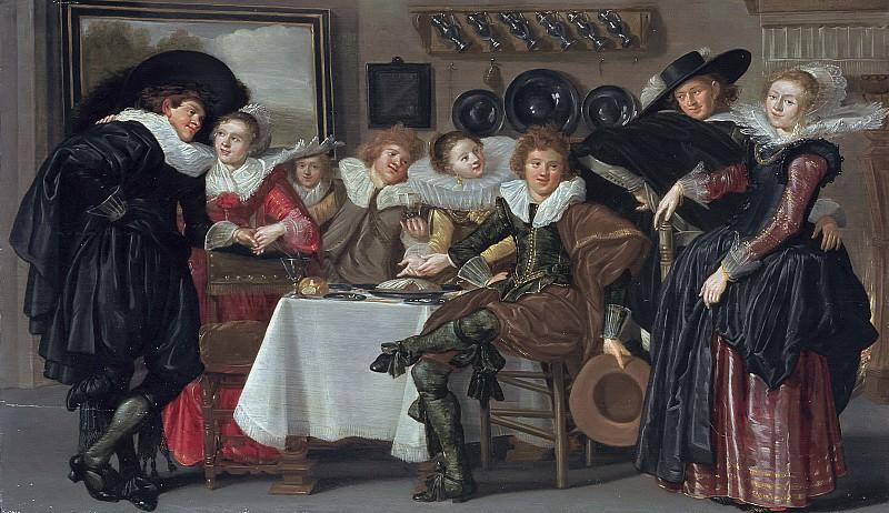 Dirck Hals - Merry Company. Mauritshuis