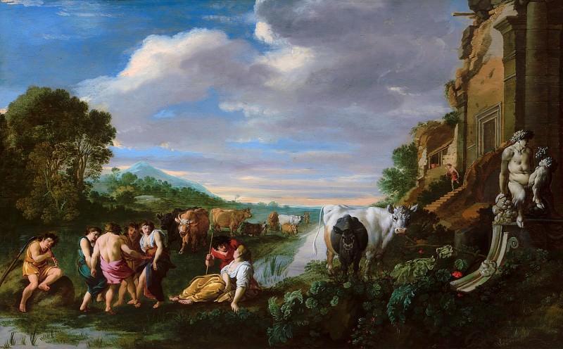 Втенбрук, Мойсес ван - Пейзаж с пастухами. Маурицхёйс