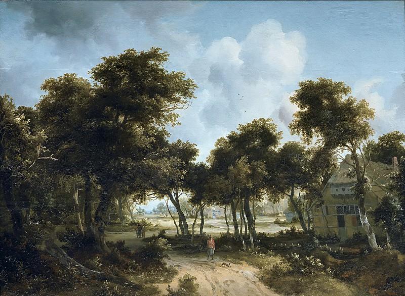 Хоббема, Мейндерт - Хижины на опушке леса. Маурицхёйс