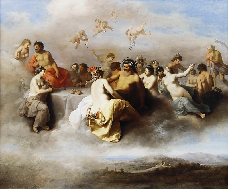 Пуленбург, Корнелис ван - Совет богов. Маурицхёйс