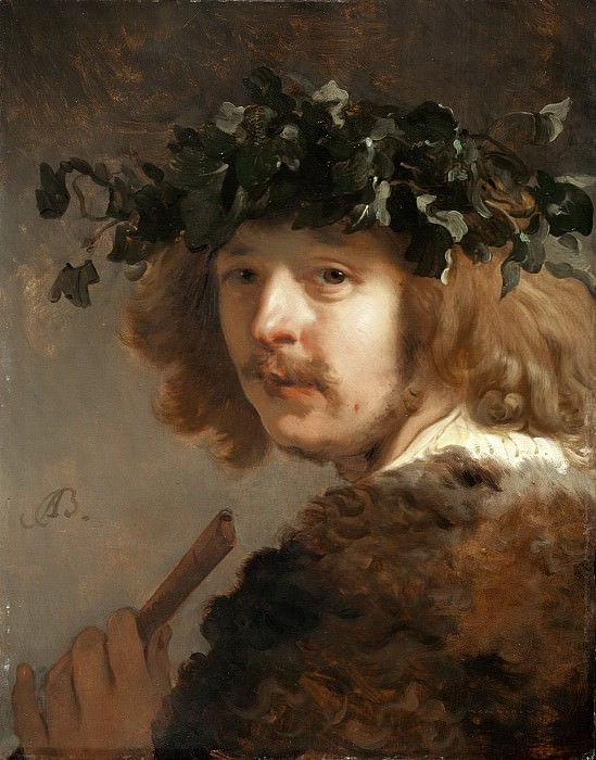 Jacob Adriaensz Backer - Shepherd with Flute (Self-Portrait?). Mauritshuis