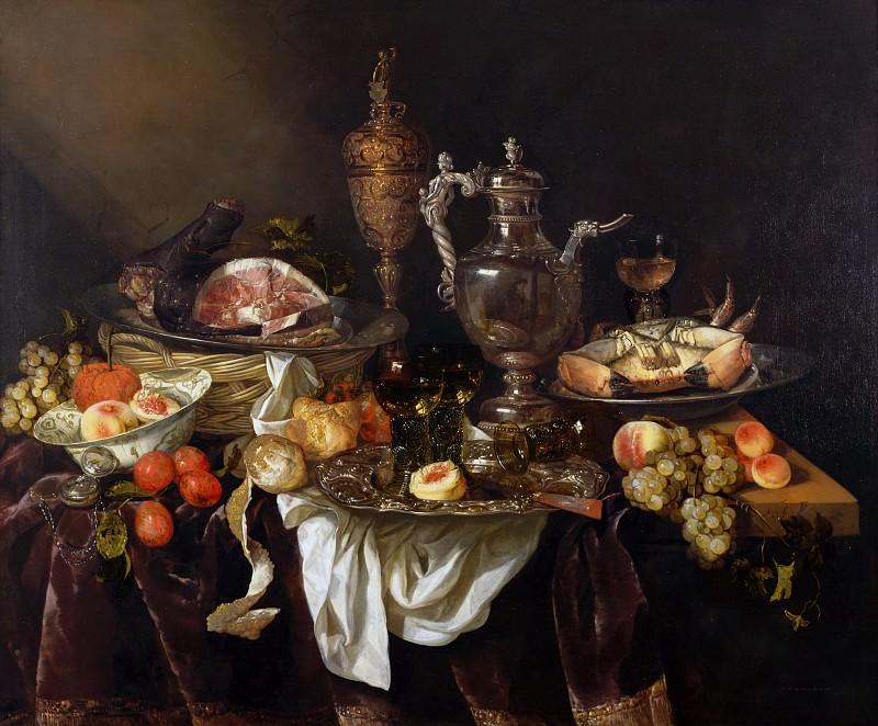 Abraham van Beyeren - Banquet Still Life. Mauritshuis