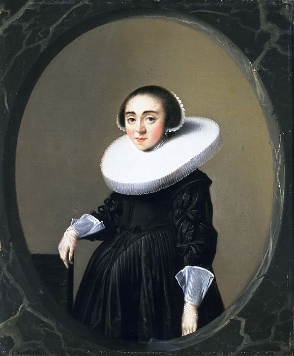 Hendrick Pot - Portrait of Anna Hooftman (1613-after 1645). Mauritshuis