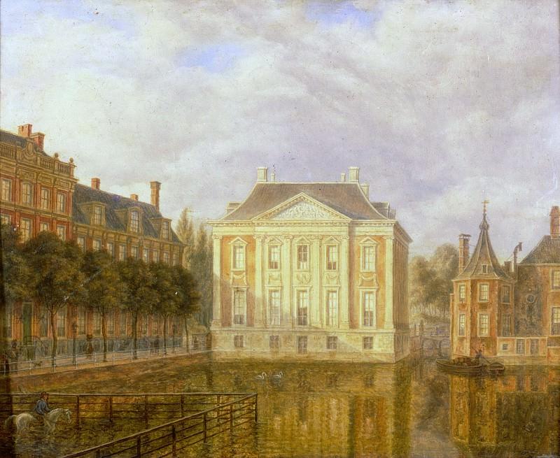 Augustus Wijnantz - View of the Mauritshuis. Mauritshuis