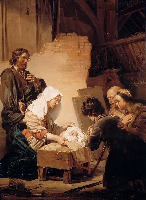 Jan de Bray - The Adoration of the Shepherds. Mauritshuis