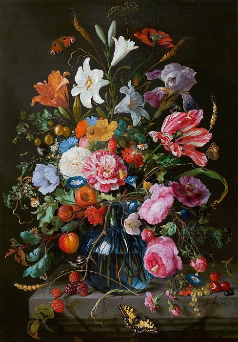 Jan Davidsz de Heem - Vase of Flowers. Mauritshuis