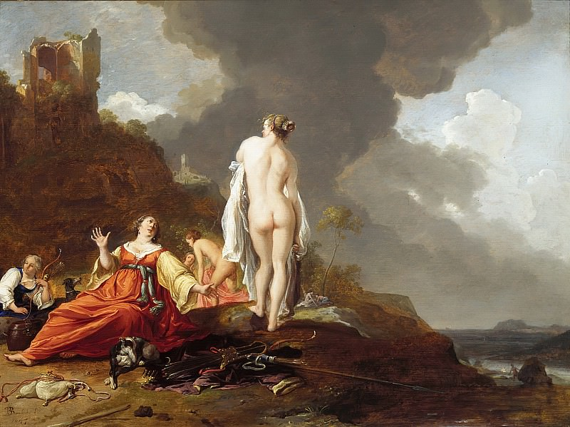 Bartholomeus Breenbergh - Landscape with Nymphs (and Diana?). Mauritshuis