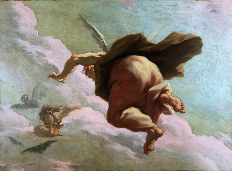 Giovanni Antonio Pellegrini - The Dwindling Night. Mauritshuis