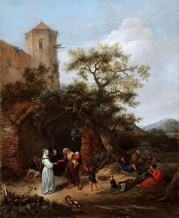 Jan Steen - The Fortune Teller. Mauritshuis