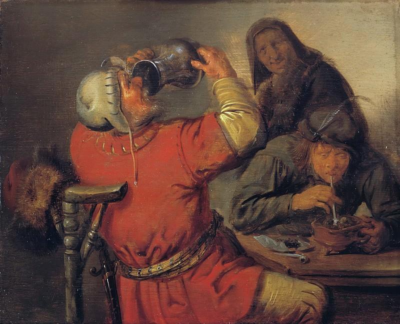 Jan Miense Molenaer - The Five Senses: Taste. Mauritshuis