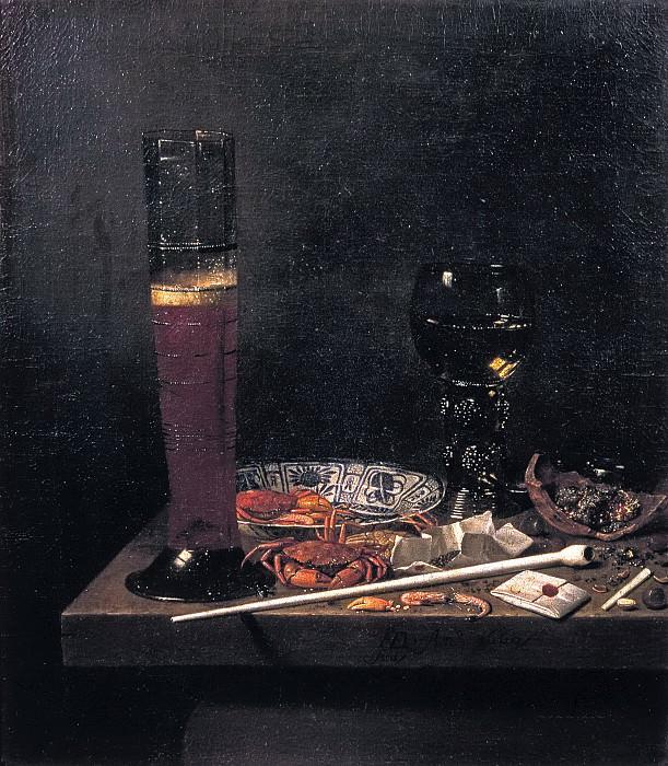 Jan van de Velde III - Still life with Passglas. Mauritshuis