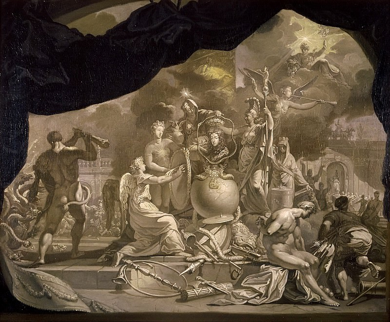 Лересс, Герард де - Прославление принца Вильгельма III Оранского (1650-1702). Маурицхёйс