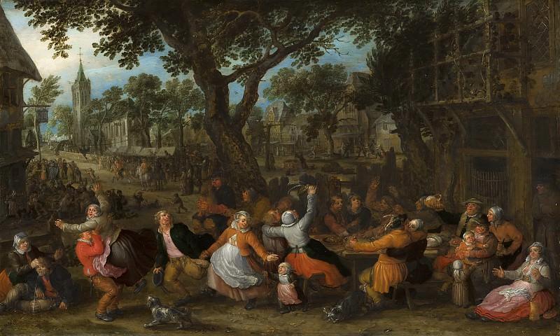 David Vinckboons - Country Fair. Mauritshuis