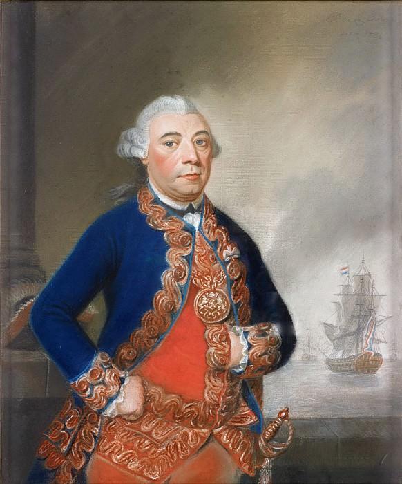 Круа, Питер Фредерик де ла - Портрет Яна Арнольда Заутмана (1724-1793). Маурицхёйс
