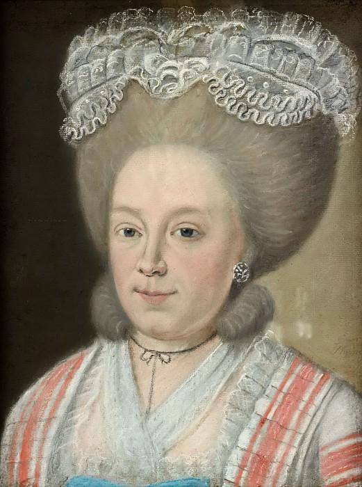 Голландская школа - Портрет Адрианы Йоханны ван Хёсден (1741-1800). Маурицхёйс