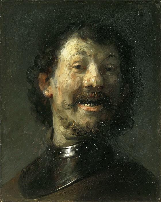 Рембрандт - Смеющийся мужчина. Маурицхёйс