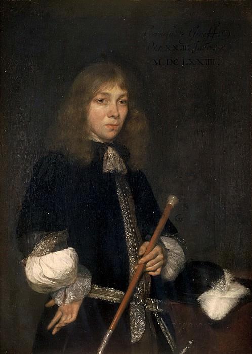 Gerard ter Borch - Portrait of Cornelis de Graeff (1650-1678). Mauritshuis
