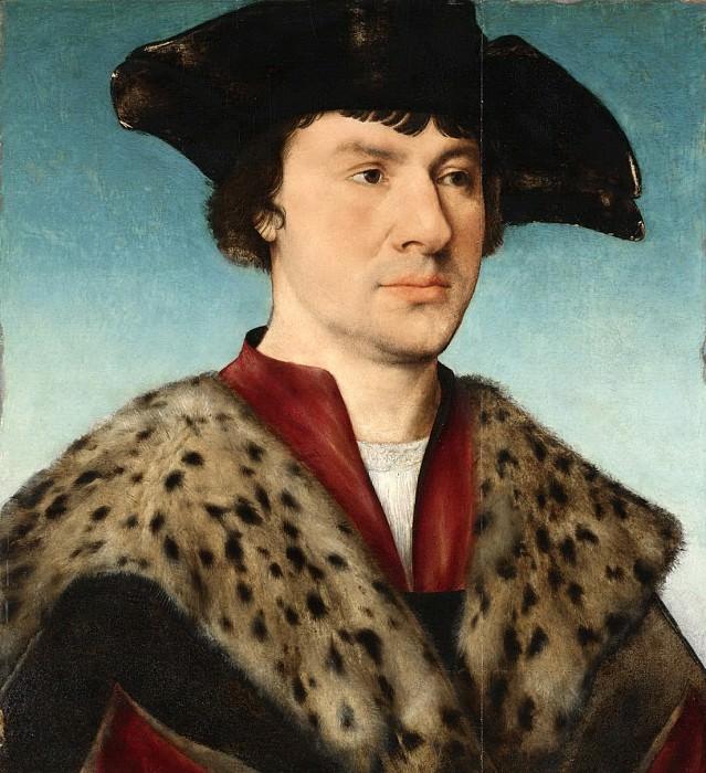 Joos van Cleve - Portrait of a Man. Mauritshuis