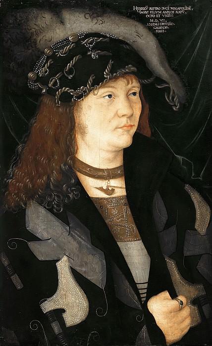 Барбари, Якопо де (атр.) - Портрет Генриха V (1479-1552), герцога Макленбургского. Маурицхёйс