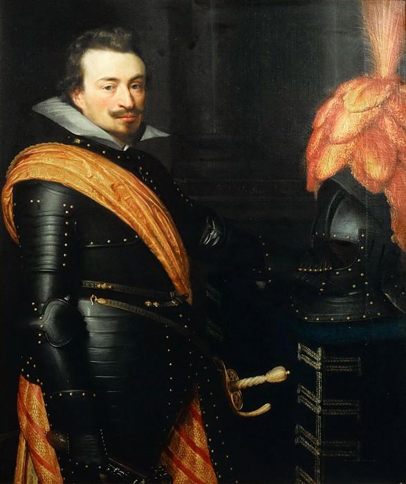 Jan Anthonisz van Ravesteyn (and studio) - Portrait of Jan III (1583-1638), Count of Nassau-Siegen. Mauritshuis