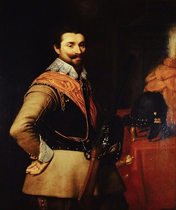 Jan Anthonisz van Ravesteyn (and studio) - Portrait of an Officer. Mauritshuis