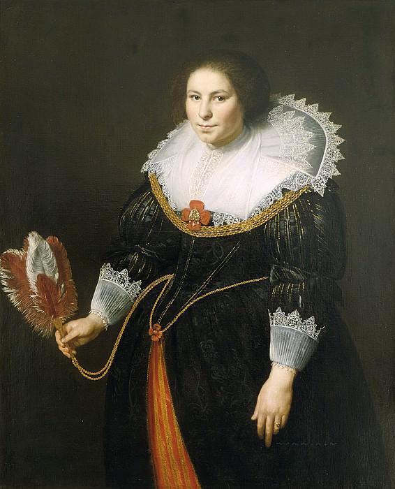 Paulus Moreelse - Portrait of a Lady. Mauritshuis