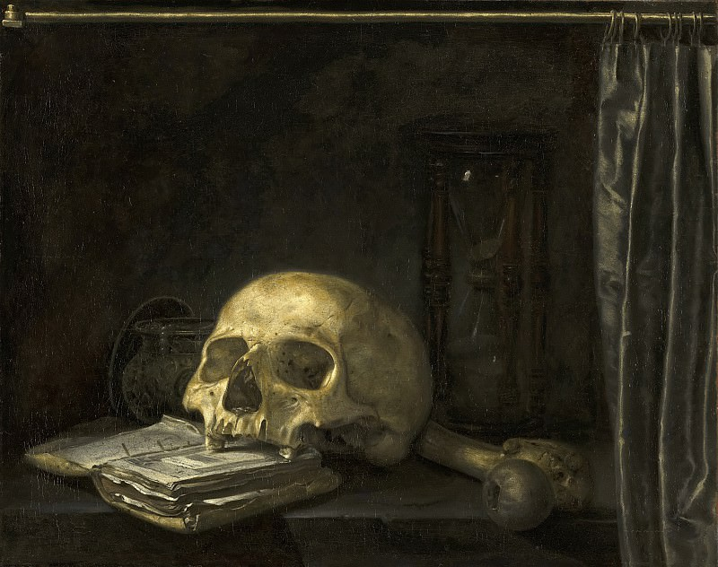 Anonymous (Northern Netherlands) - Vanitas Still Life. Mauritshuis