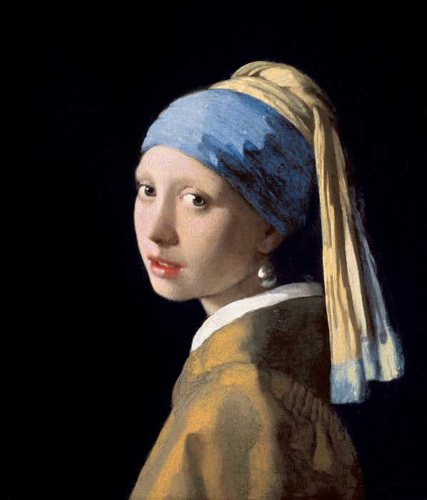 Girl with a Pearl Earring. Johannes Vermeer