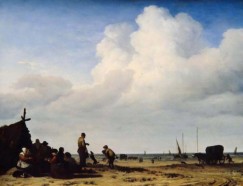 Adriaen van de Velde - Beach View. Mauritshuis