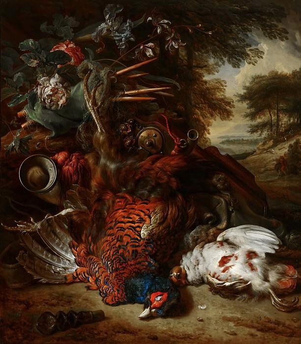 Jan Weenix - Hunting Still Life. Mauritshuis