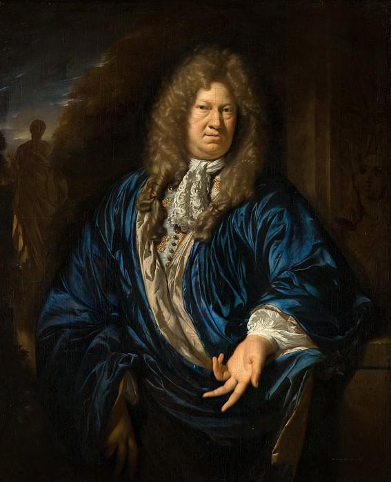Adriaen van der Werff - Portrait of a Man. Mauritshuis