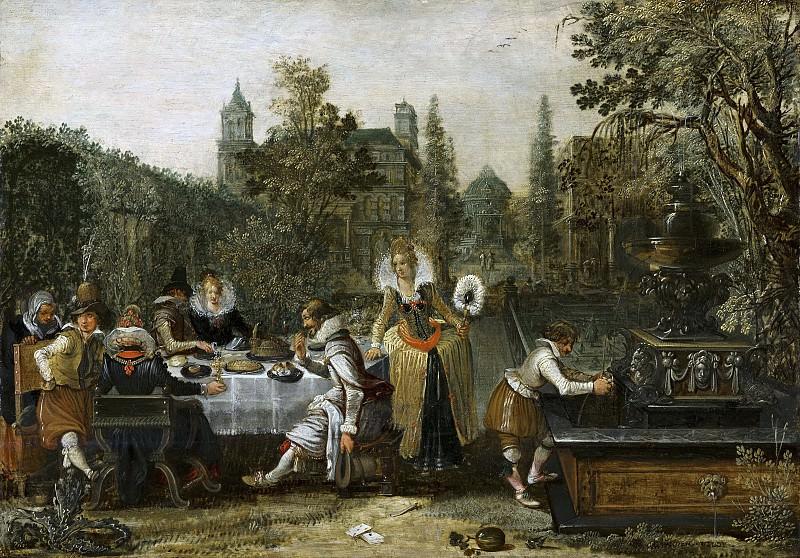Esaias van de Velde - Merry Company in a Park. Mauritshuis