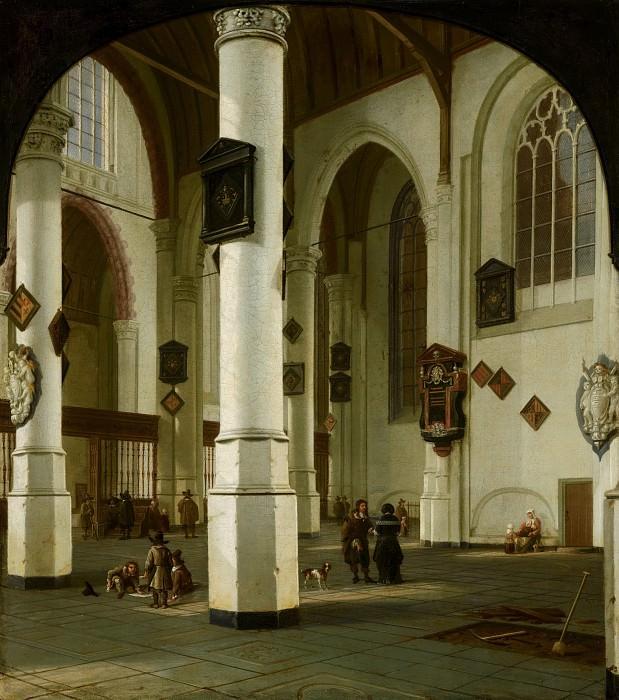 Hendrick van Vliet - Interior of the Oude Kerk in Delft. Mauritshuis