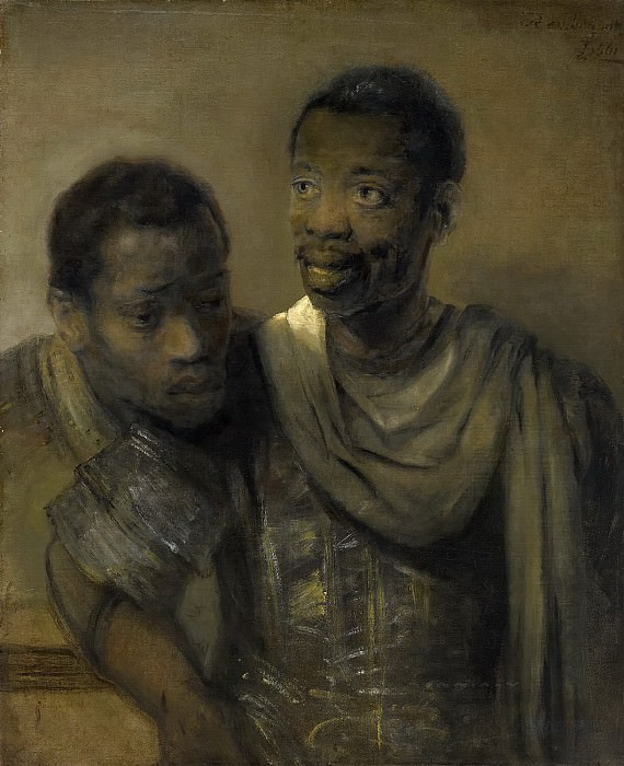 Рембрандт - Два мавра. Маурицхёйс